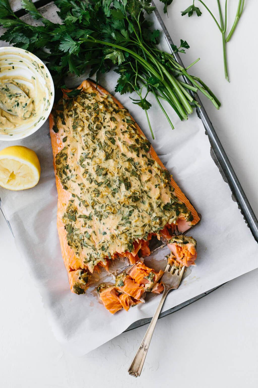 19.Dijon Baked Salmon