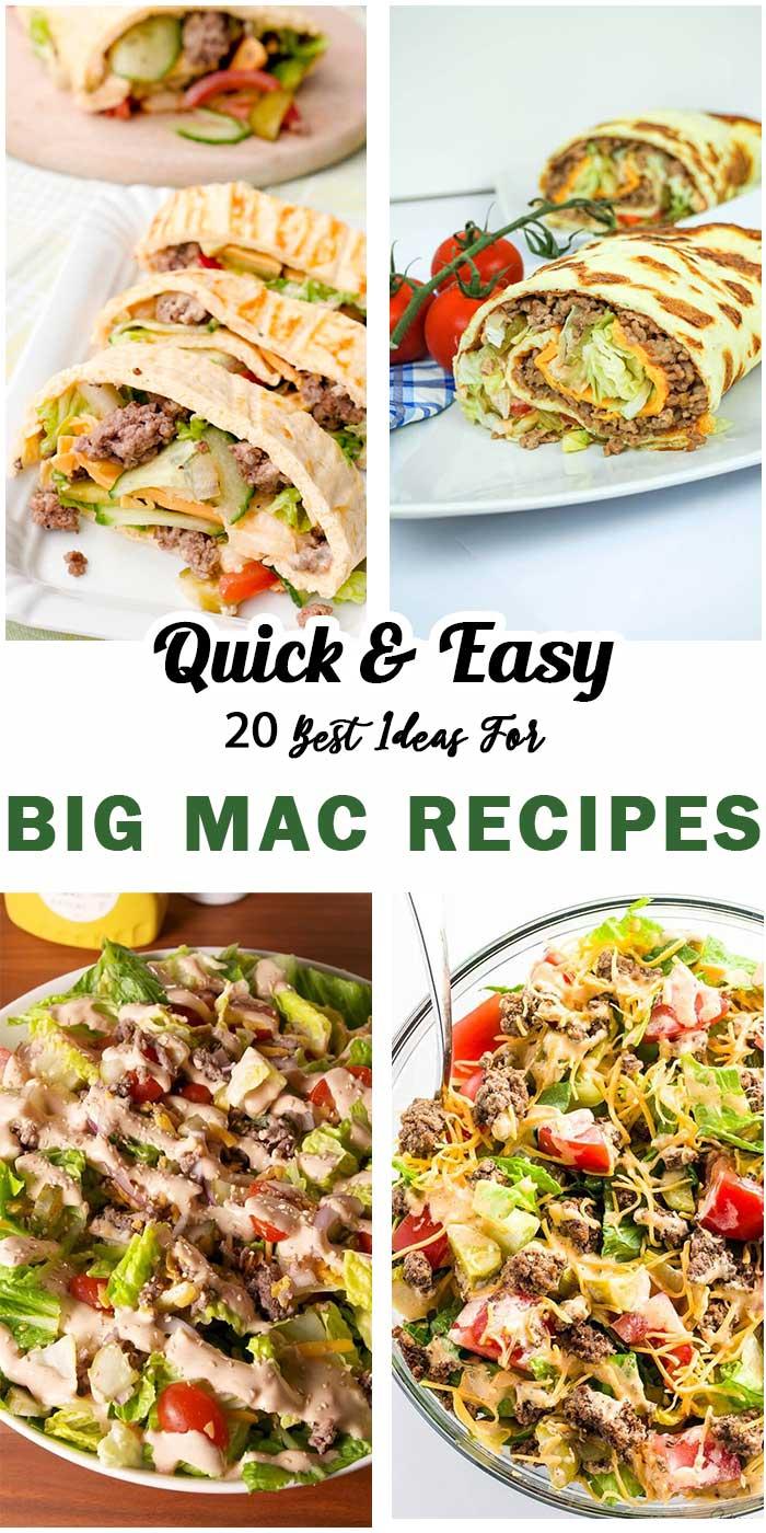20 Big Mac Recipes To Make At Home