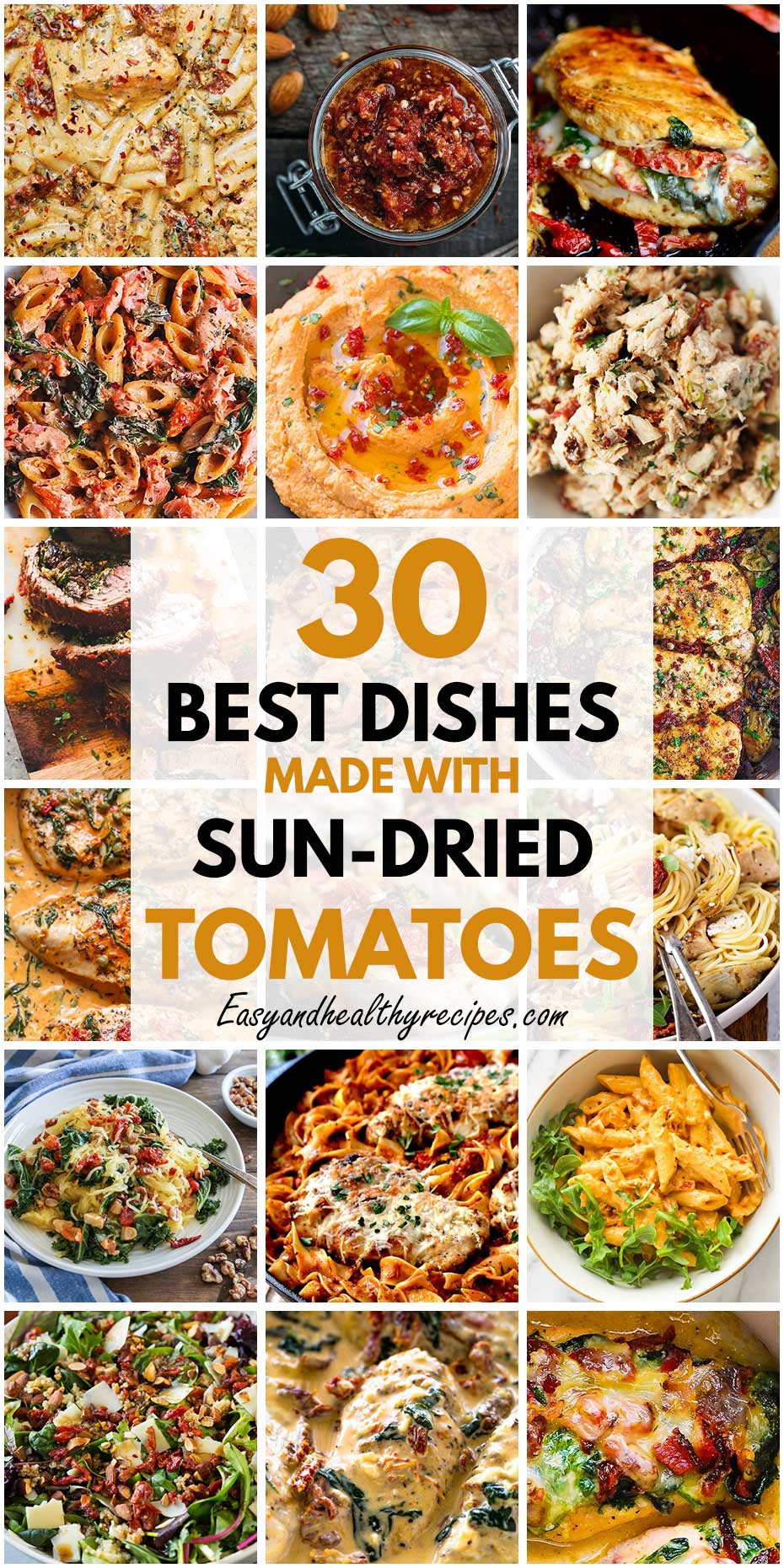 30 Best Dishes Made With Sun-Dried Tomatoes