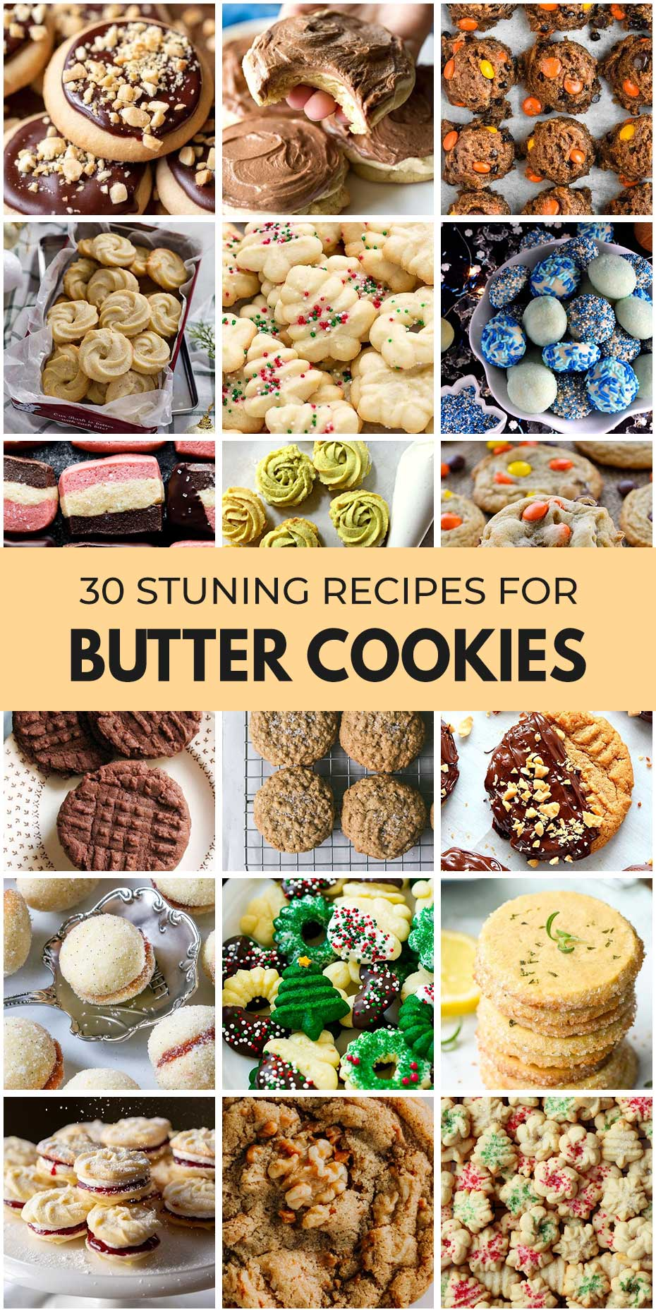 30 Crazy Good Types Of Butter Cookies