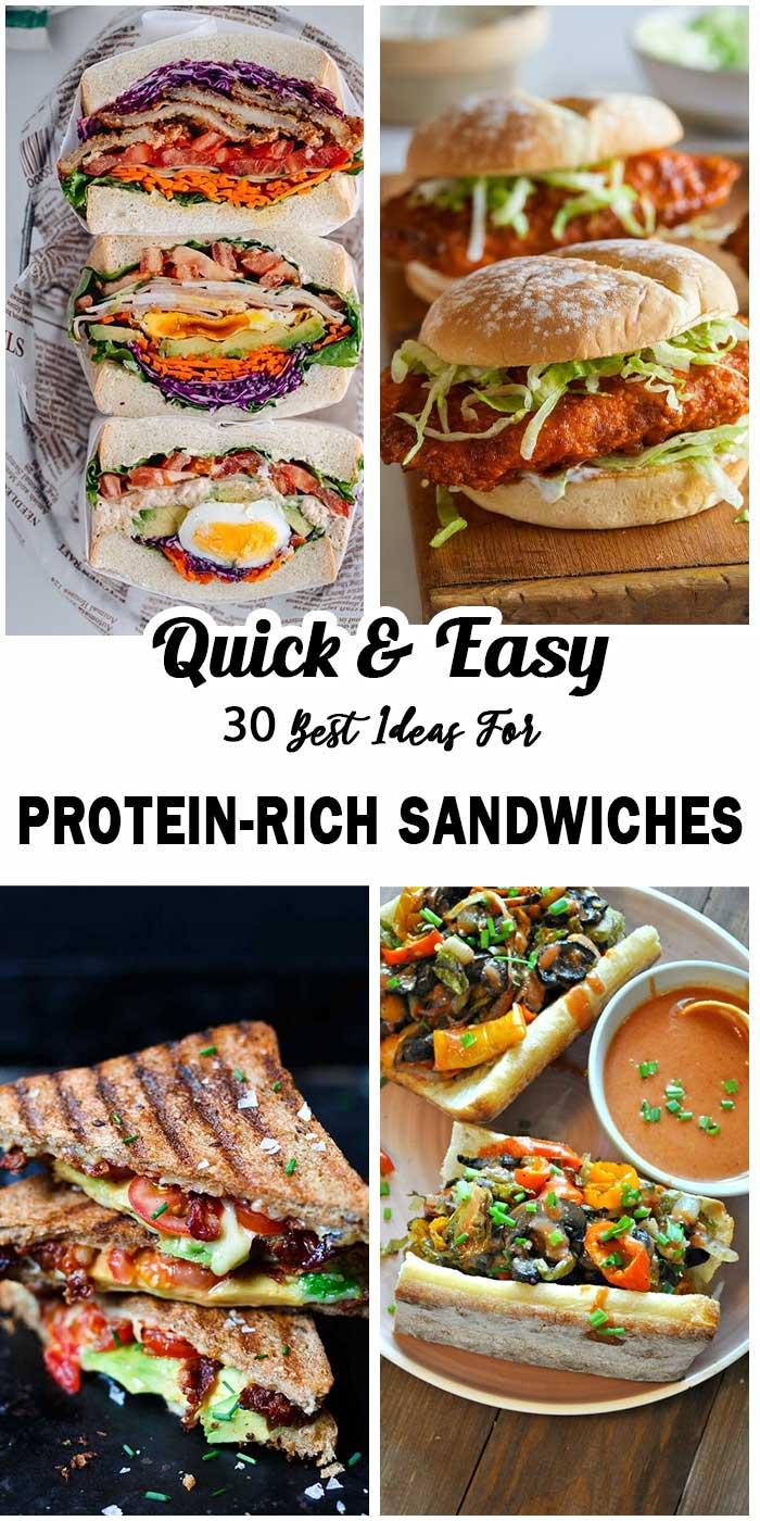 Best Ideas For Protein-Rich Sandwiches