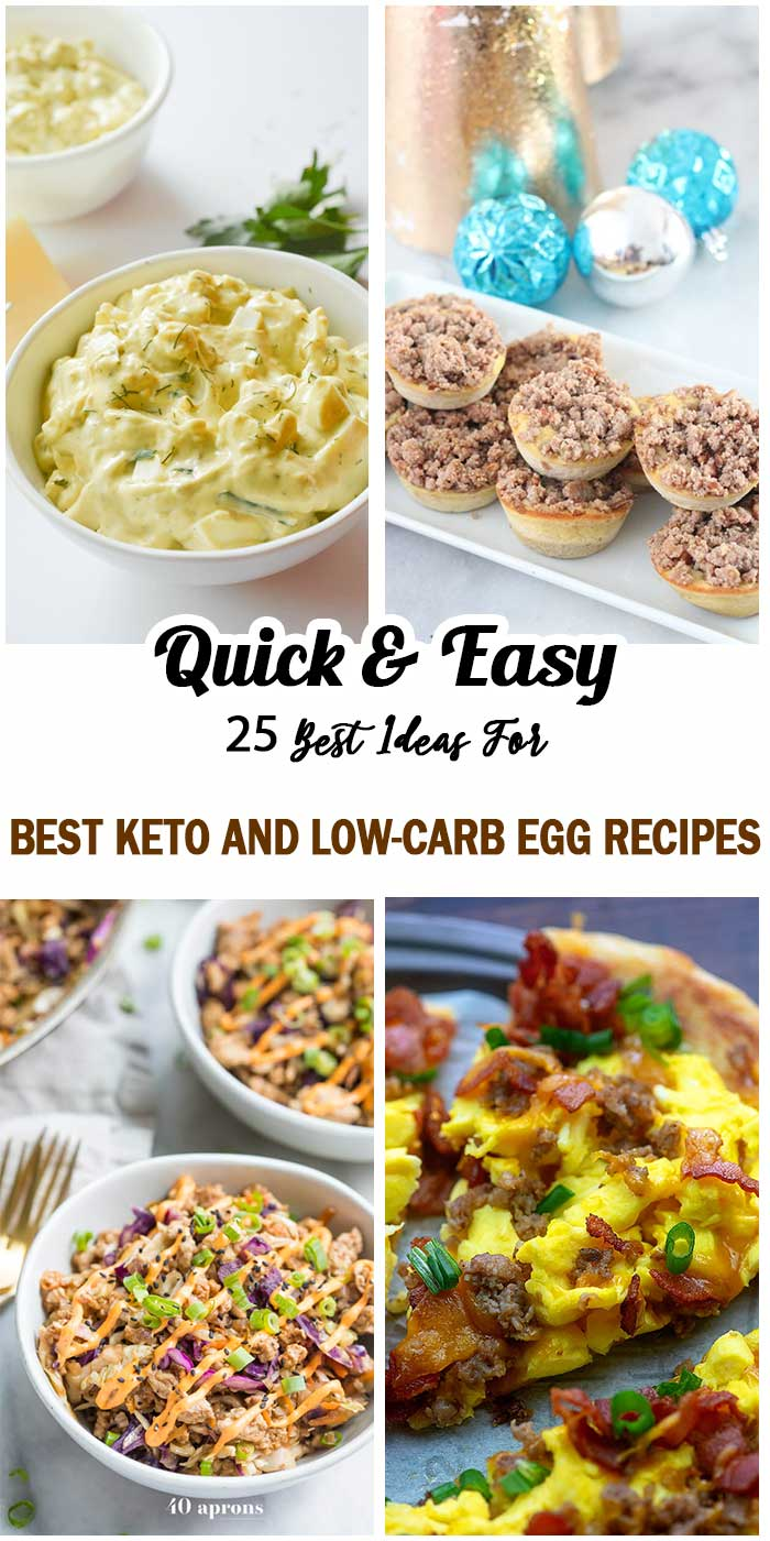 Best Keto And Low-Carb Egg Recipes