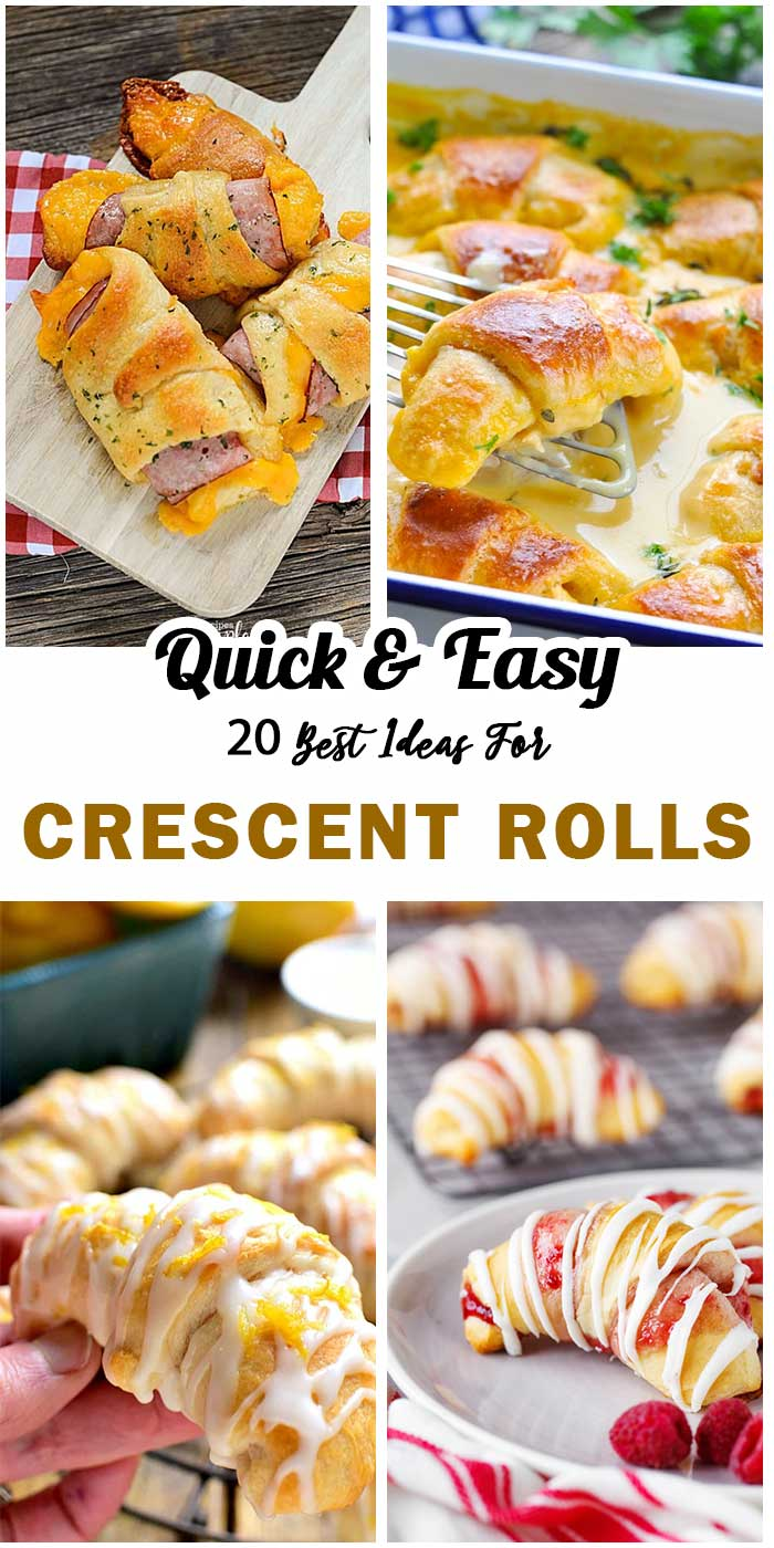 Crescent Rolls For Meals and Dessert