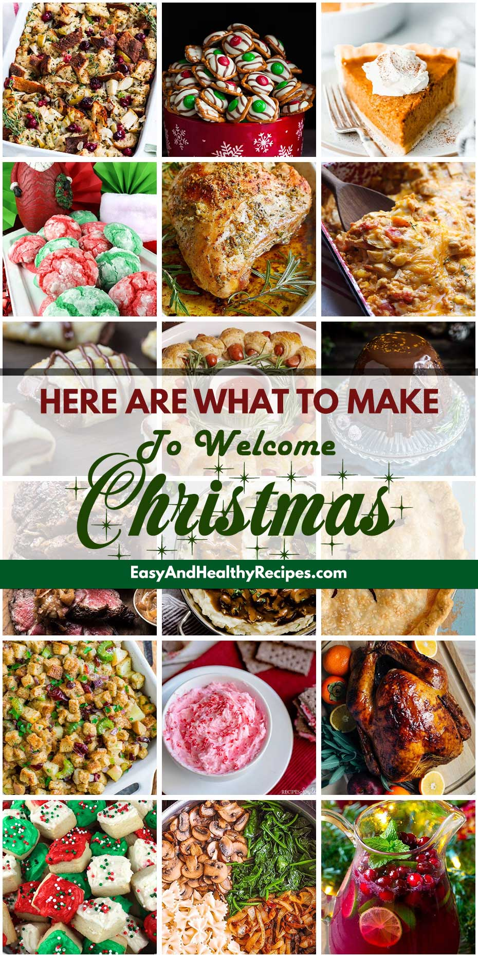 Here Are What To Make To Welcome Christmas