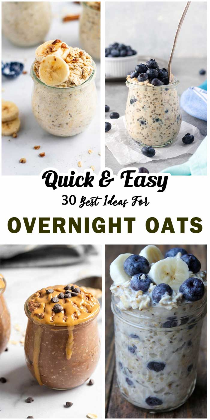 Overnight Oats: Super Easy And Tasty For Breakfast